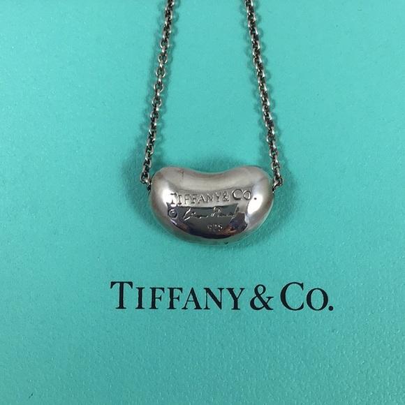 8d6519998 Tiffany & Co. Jewelry | Tiffany Co Kidney Bean Necklace | Poshmark